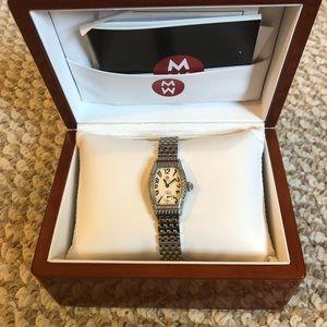 Michele Coquette Petite Diamond Watch with straps